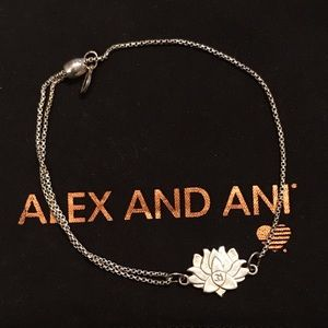 ✨Alex and Ani ✨Lotus Pull Chain✨